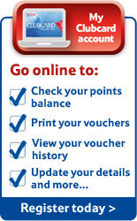 My Clubcard Account - Go online to check your points balance, view your voucher history, update your details and more